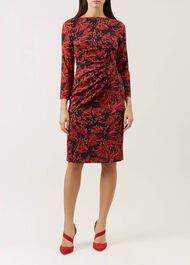 Sacha Dress, Red Multi, hi-res
