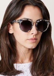 Zoe Sunglasses, Snow Leopard, hi-res