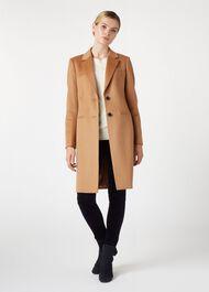 Petite Tilda Wool Coat, Vicuna, hi-res