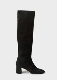 Imogen Slouch Knee Boot, Black, hi-res