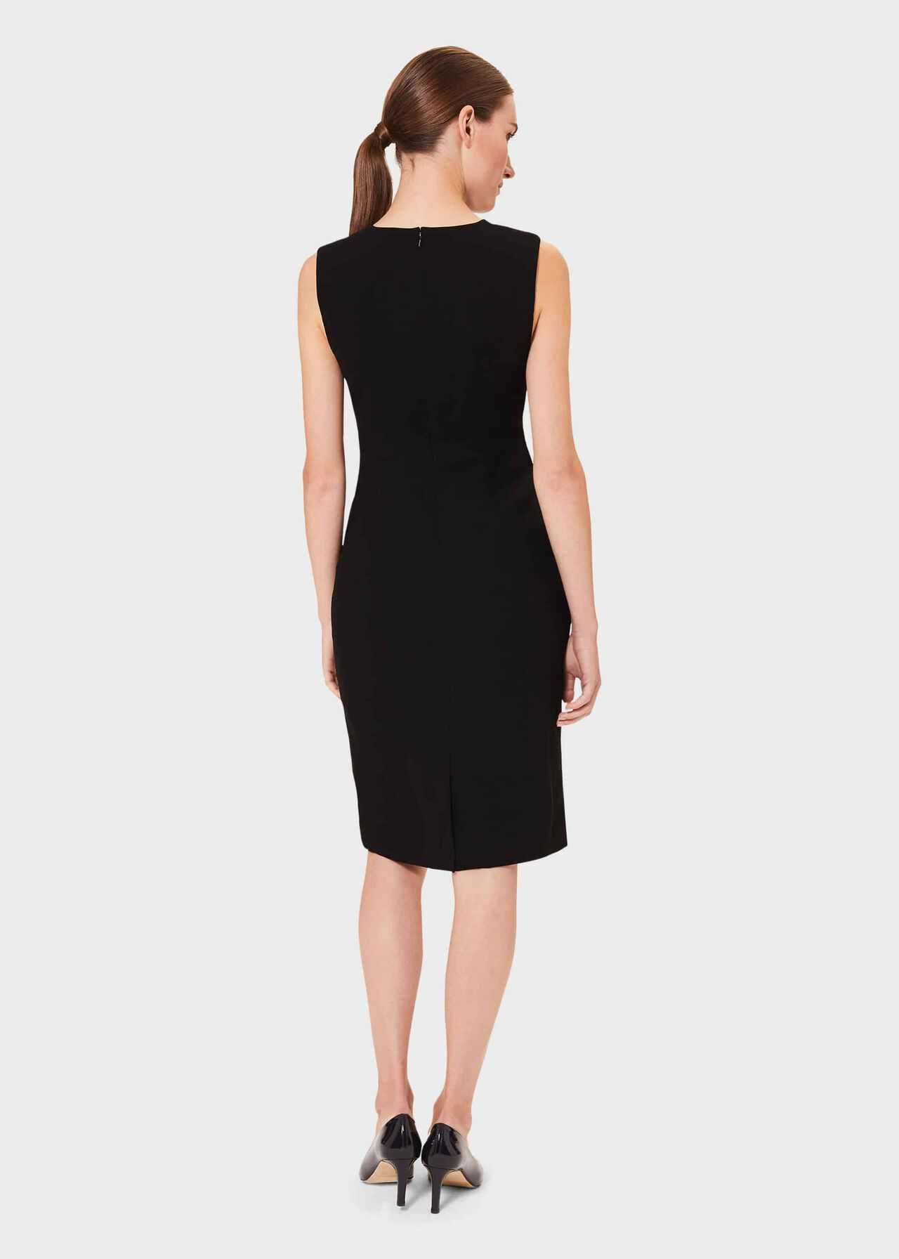 Petite Alva Dress, Black, hi-res