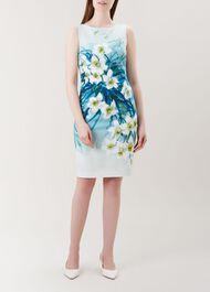 Amelie Dress, Blue Multi, hi-res
