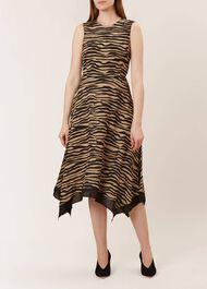 Madeline Dress, Black Neutral, hi-res