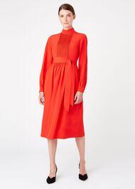 Naomi Dress, Red, hi-res