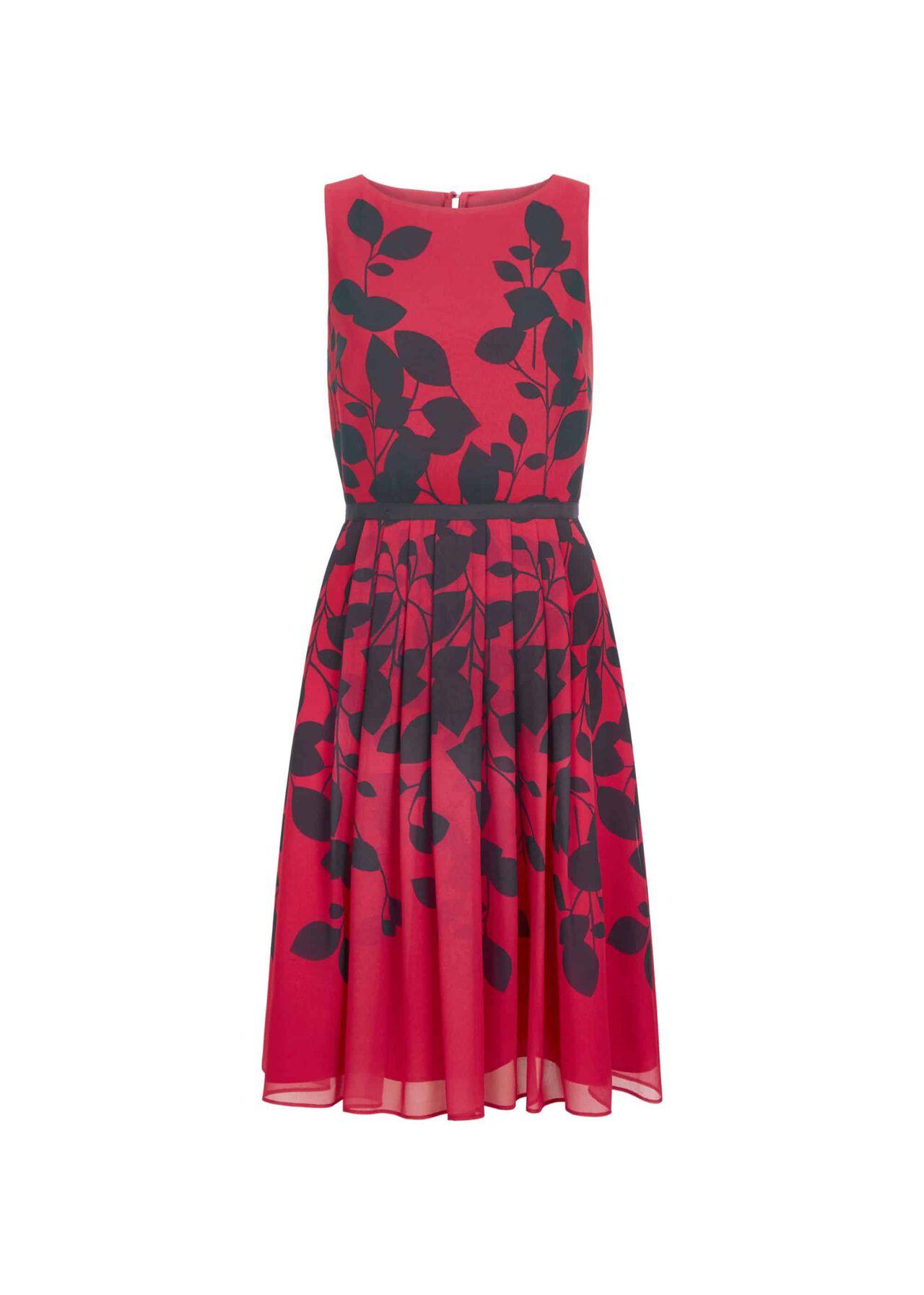 Sienna Dress Cerise Midnight