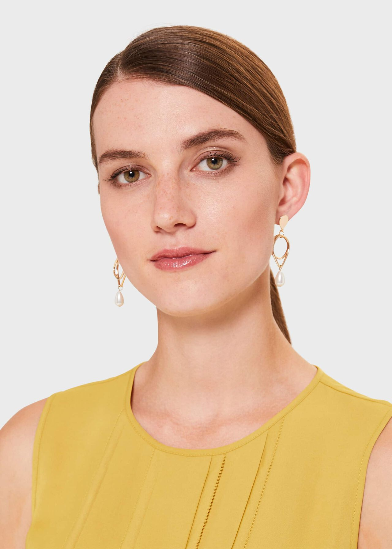 Peyton Earring, Gold, hi-res