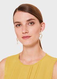 Peyton Earring, Gold, hi-res