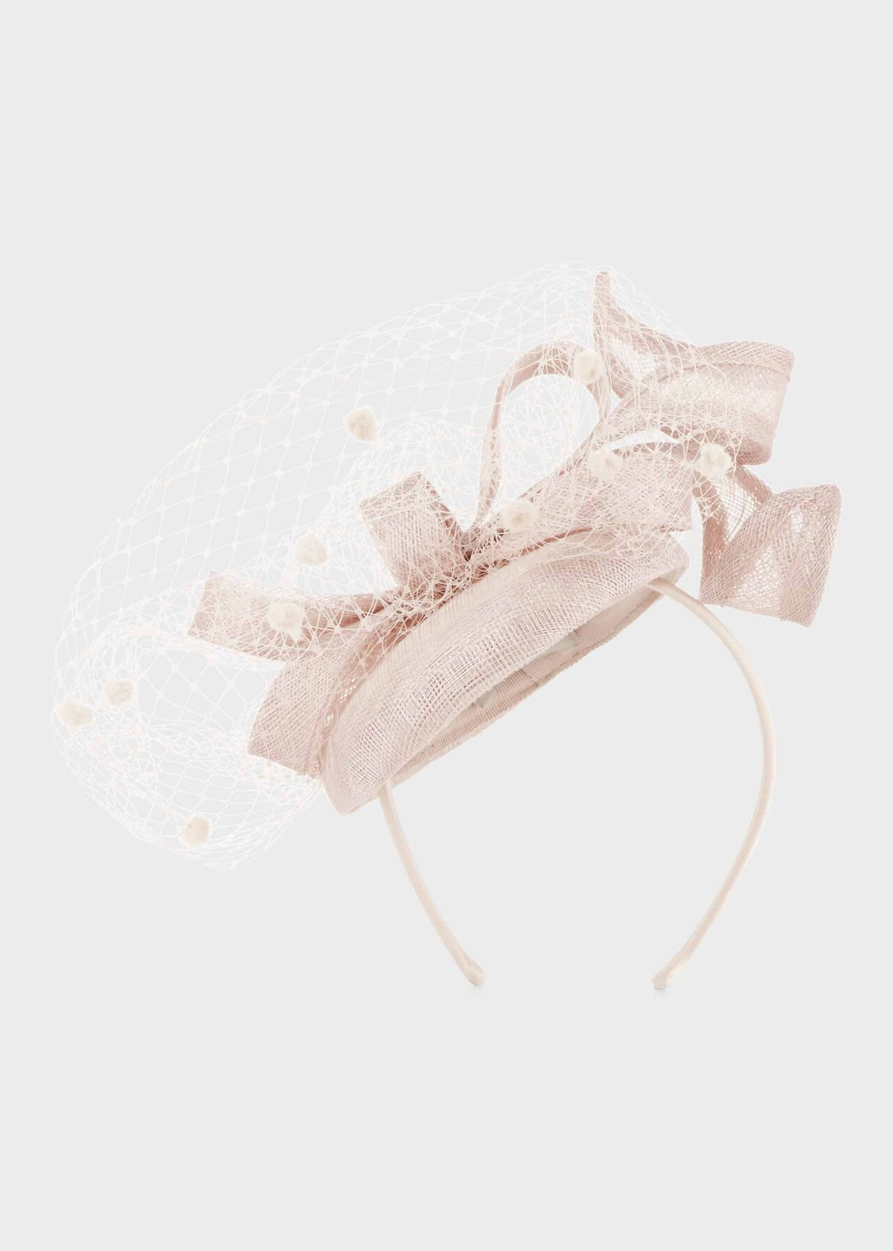 Camilla Fascinator Blush