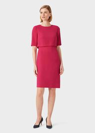 Larissa Shift Dress, Raspberry, hi-res