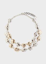 Hayley Necklace, Silver Gold, hi-res