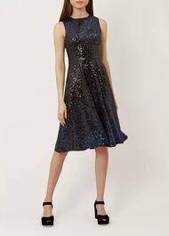 Robin Dress, Blue Black, hi-res