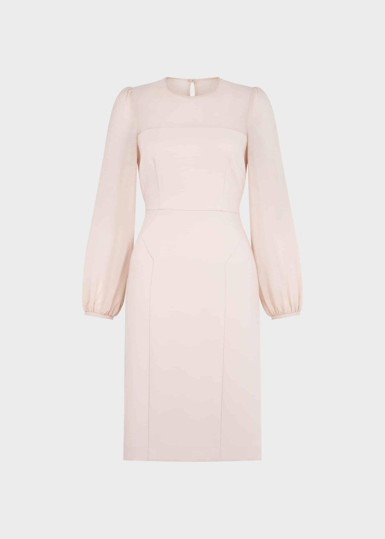 Mila Shift Dress Pale Pink