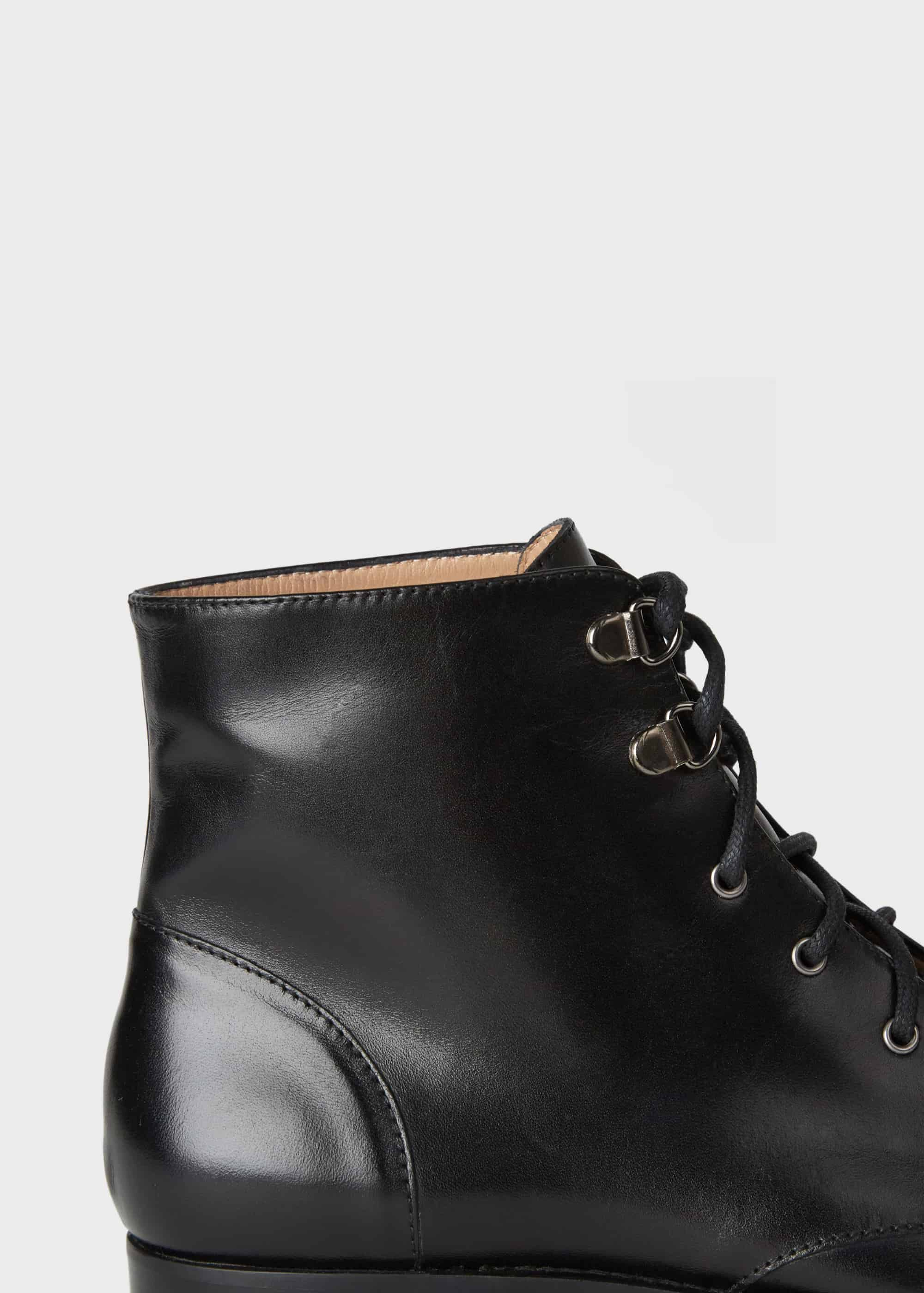 MALTA Smart Lace Up Boot brown | Dune London
