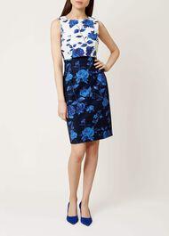 Bree Dress, Blue Multi, hi-res