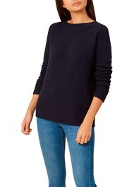 Nessie Sweater, Navy, hi-res