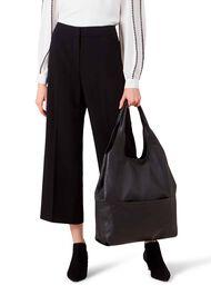 Lucy Hobo Bag, Black, hi-res