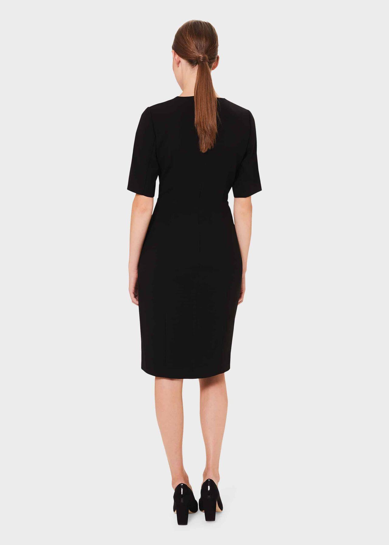 Jolie Shift Dress, Black, hi-res