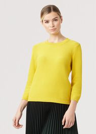 Jade Sweater, Yellow, hi-res