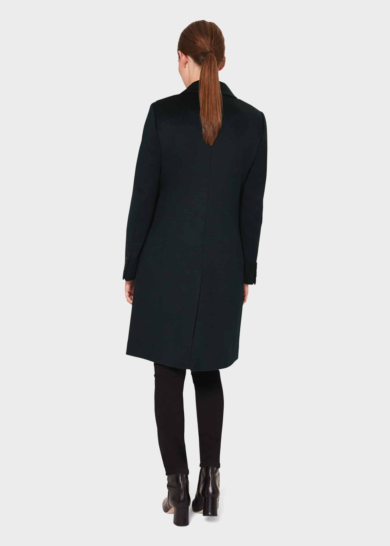 Petite Tilda Wool Collar Coat, Fern Green, hi-res