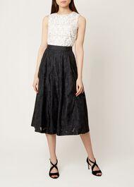 Suzette Skirt, Black, hi-res