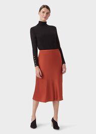 Peyton Skirt, Burnt Orange, hi-res
