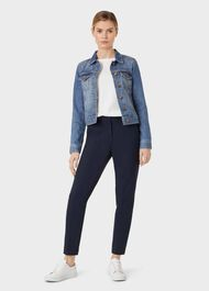 Mariam Jacket, Mid Blue, hi-res