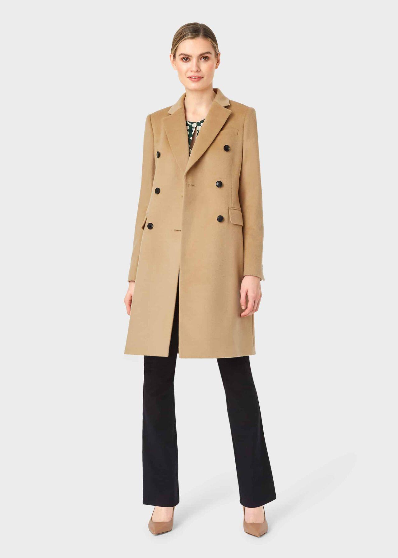 Elizabeth Coat Camel