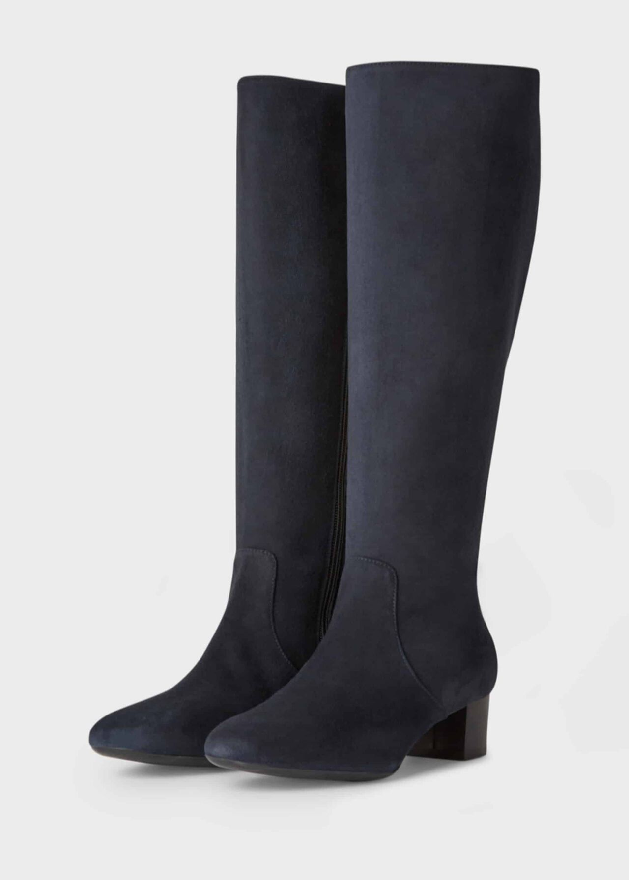 Sadie Knee Boot Navy