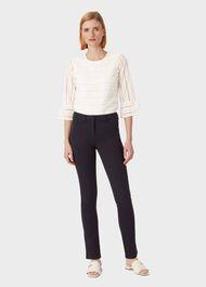 Amanda Skinny Jeans With Stretch, True Navy, hi-res