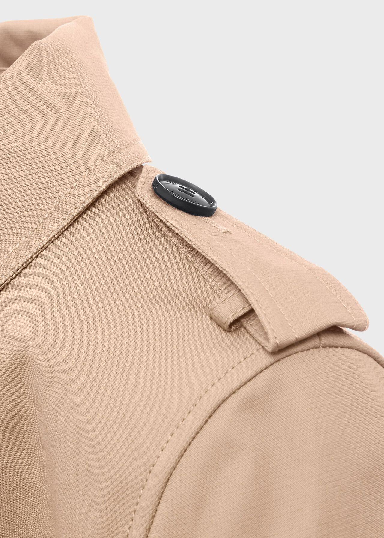 Saskia Water Resistant Trench Coat, Tan, hi-res