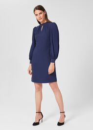 Katia Dress, Ink Blue, hi-res