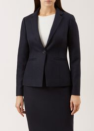 Everly Jacket, Navy, hi-res