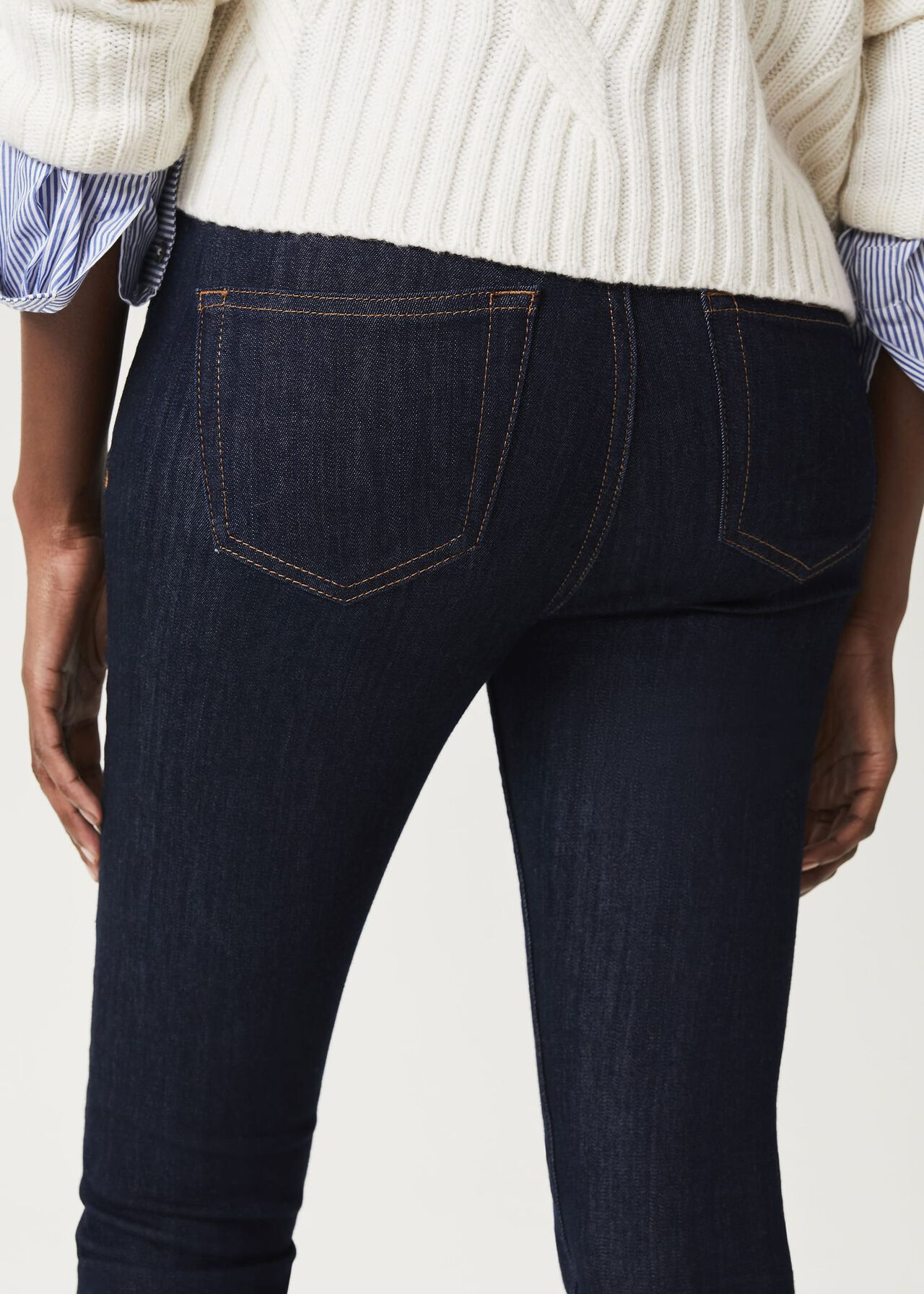 Gia Sculpting Jean With Stretch, Indigo, hi-res