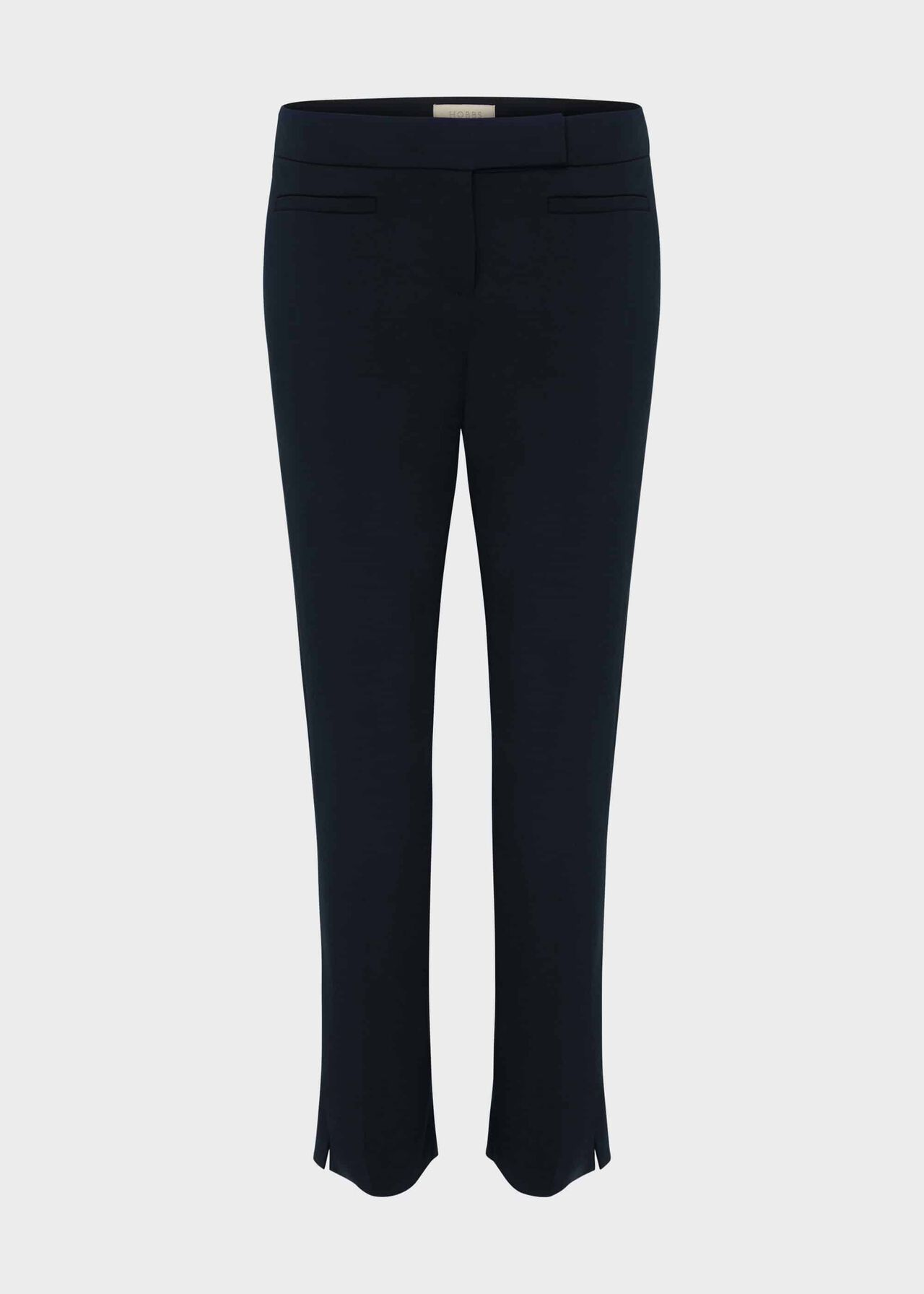 Annie Slim Trousers With Stretch Navy
