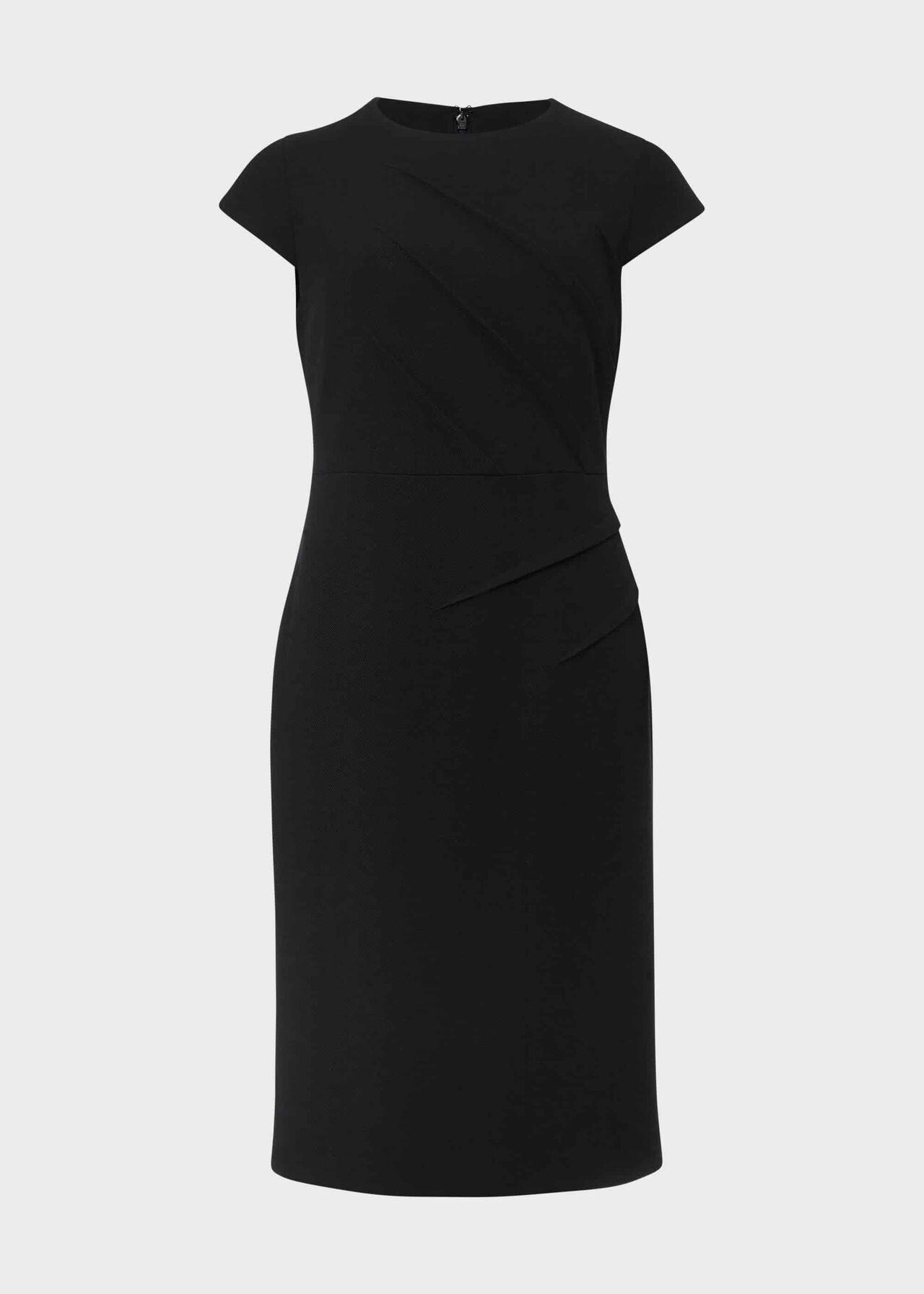 Petite Ophelia Shift Dress Black