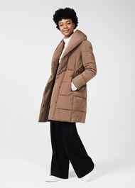 Winnie Puffer Jacket, Camel, hi-res
