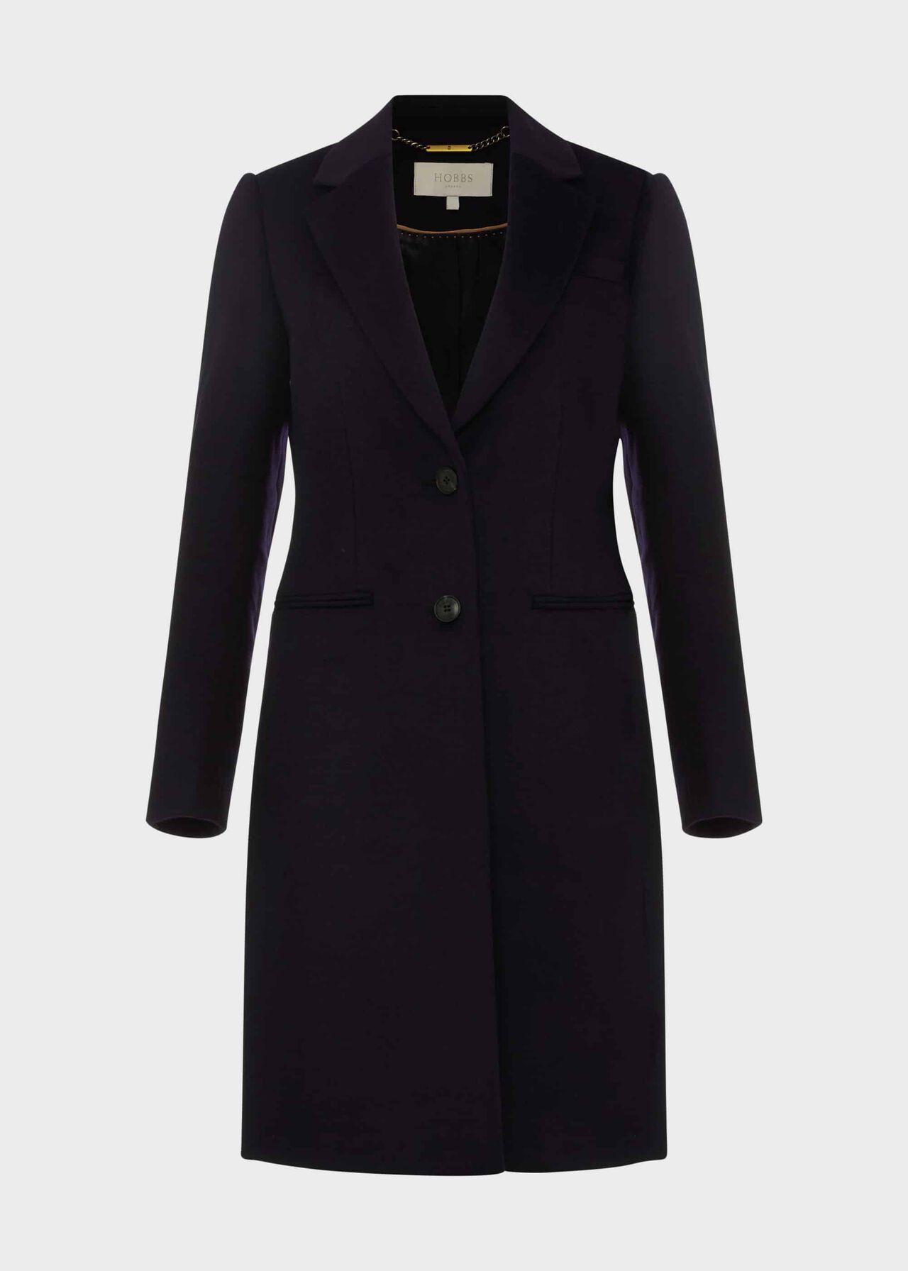 Tilda Wool Coat Navy