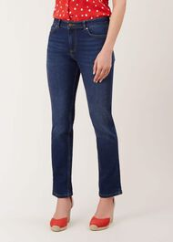Jayde Straight Jean With Stretch, Light Indigo, hi-res