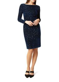 Sawyer Dress, Navy, hi-res