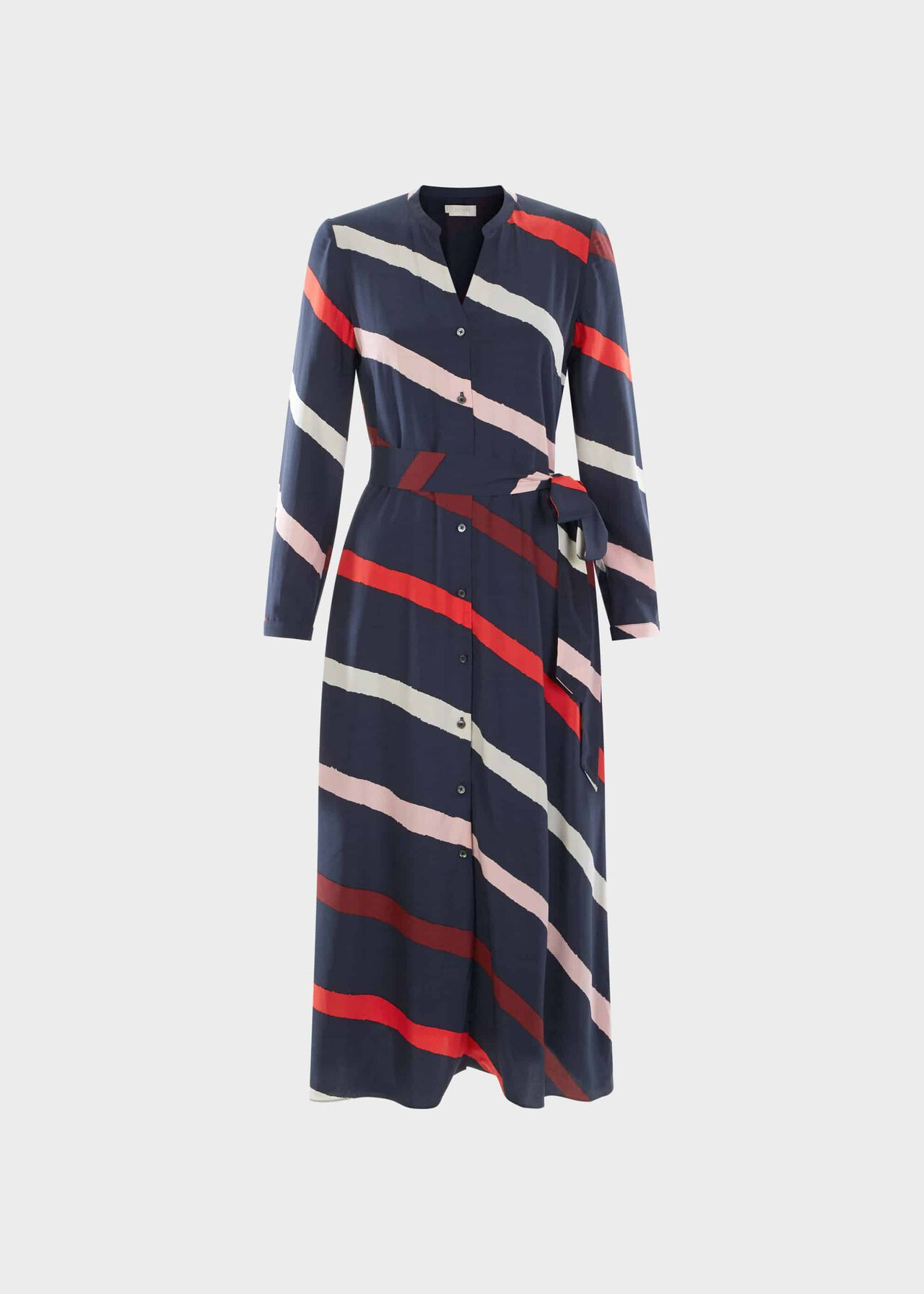 Petite Ginnie Dress Navy Multi