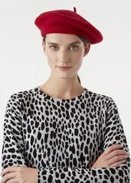 Grace Beret, Red, hi-res