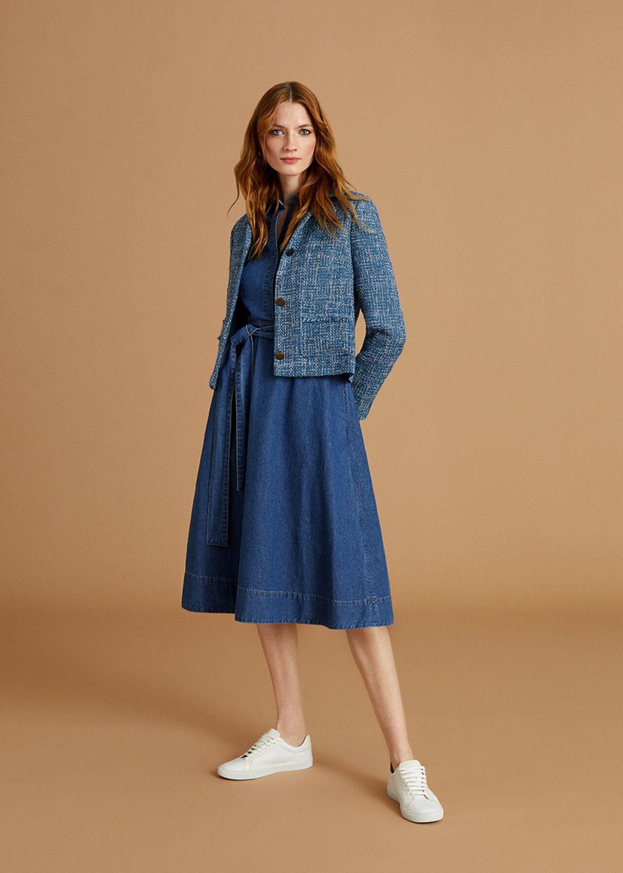 The Fern Denim Dress Outfit, , hi-res