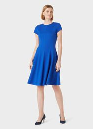 Tessa Dress, Blue, hi-res