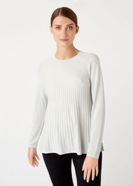 Esme Sweater, Silver Grey, hi-res