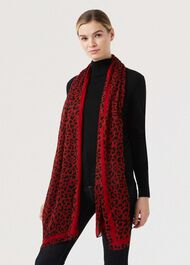 Catrina Scarf, Red Multi, hi-res