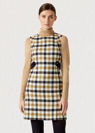 Cinthia Wool Dress, Bamboo Multi, hi-res