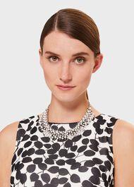 Ella Collar Necklace, Silver, hi-res