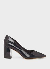 Nicola Court Shoes, Navy, hi-res