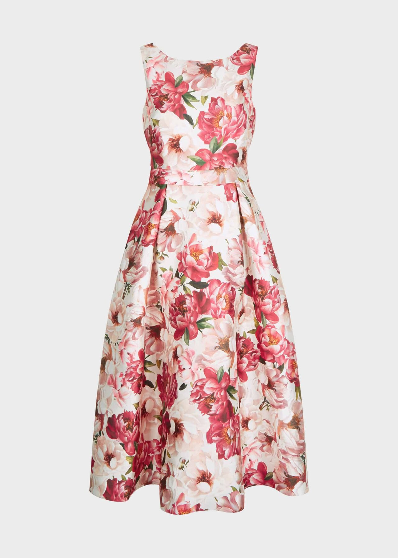 Valeria Floral Dress Peony Multi