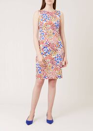 Fiona Dress, Ivory Multi, hi-res